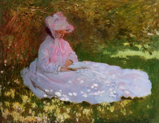 Monet-TheReader