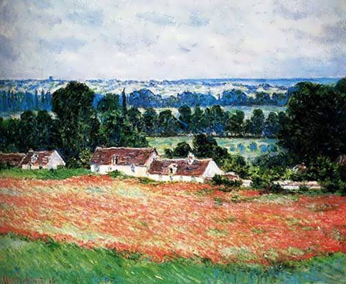 Monet_Field_Of_Poppies_Giverny_1885