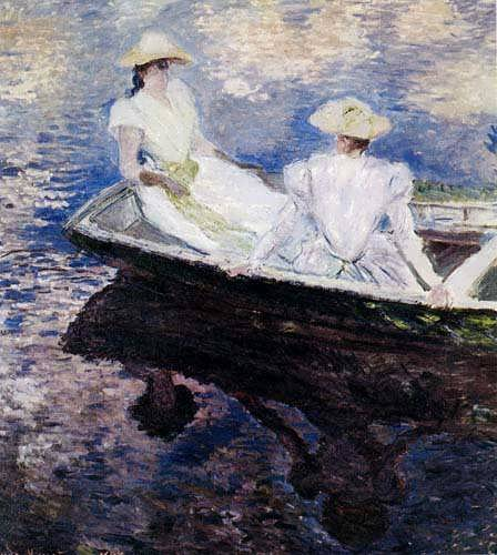 Monet_Girls_In_A_Boat_1887