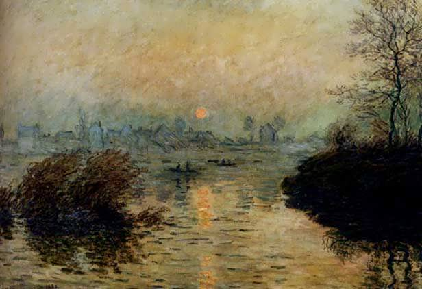 Monet_Sun_Setting_Over_The_Seine_At_Lavacourt_Winter_Effect