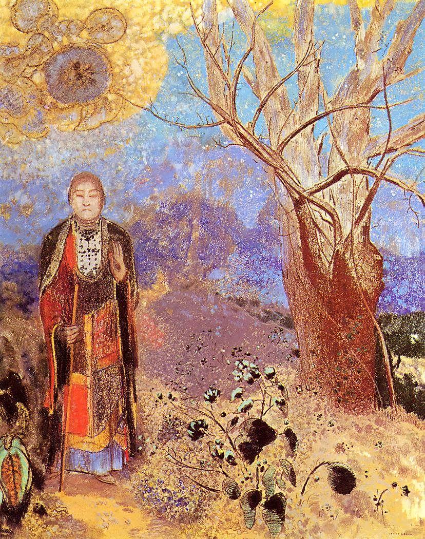 OdilonRedon-Buddah