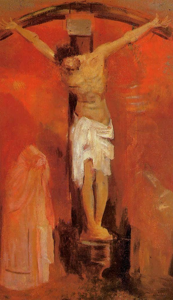 OdilonRedon-TheCrucifixion1