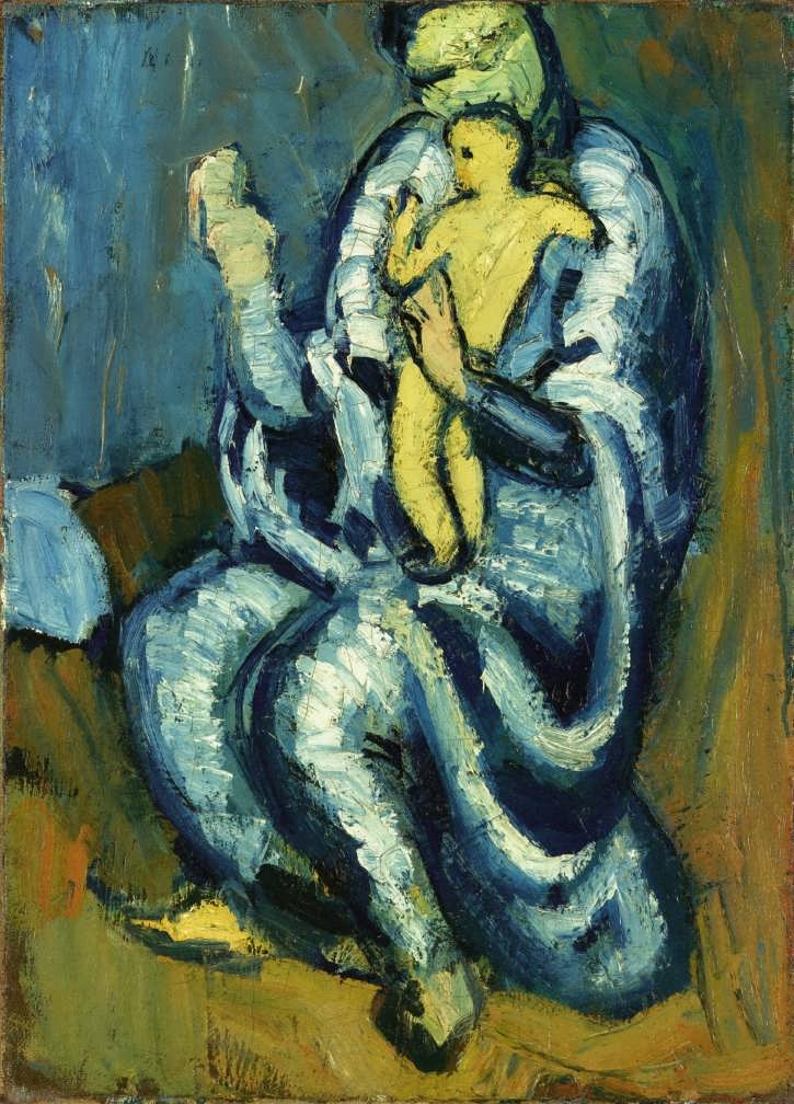 PabloPicasso-Motherhood