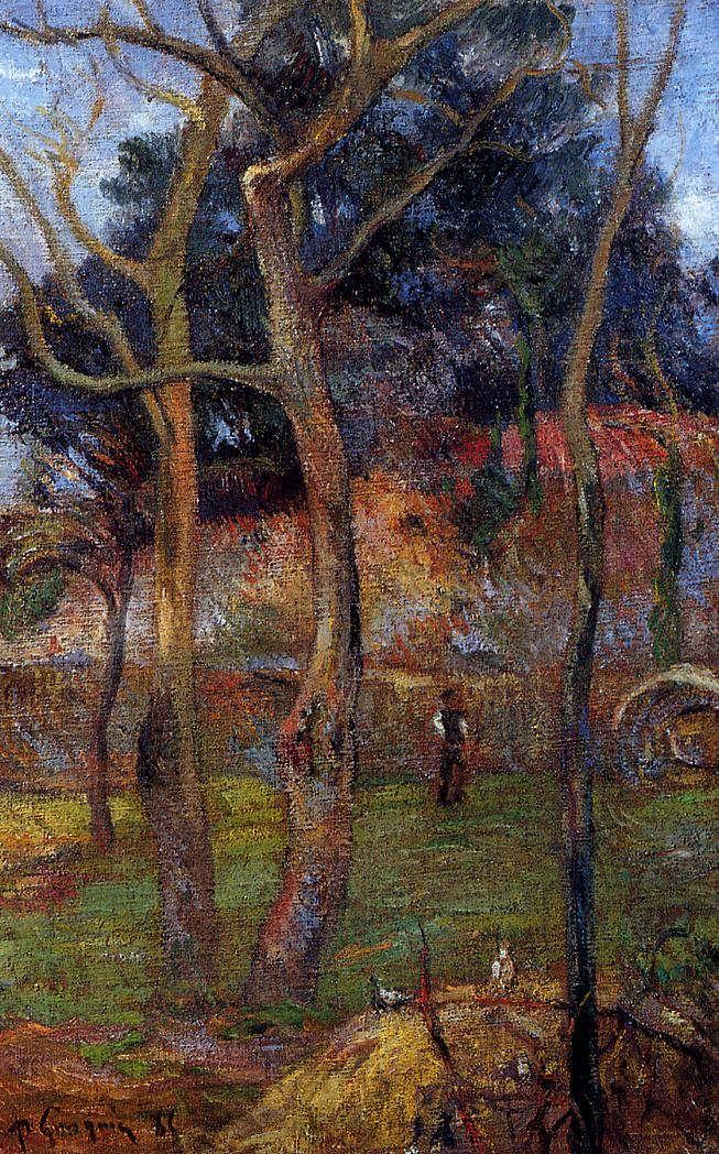 PaulGauguin-BareTrees