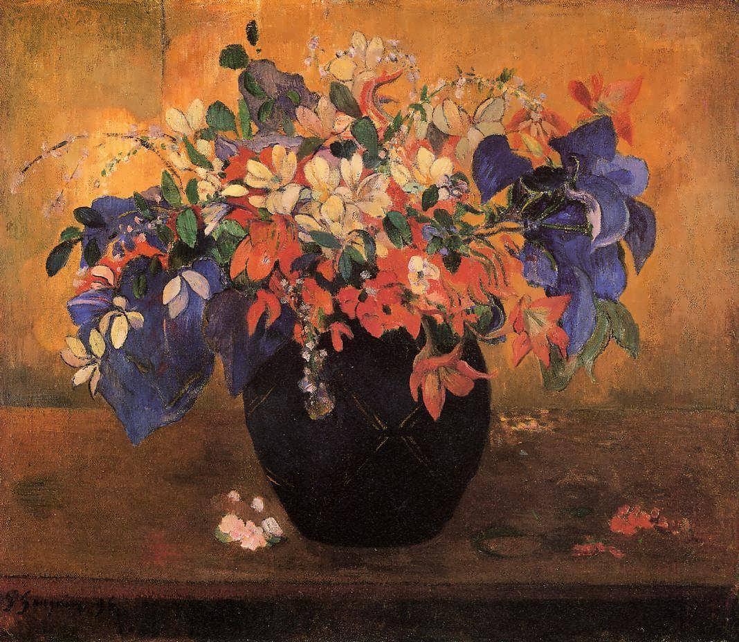PaulGauguin-FlowerPiece