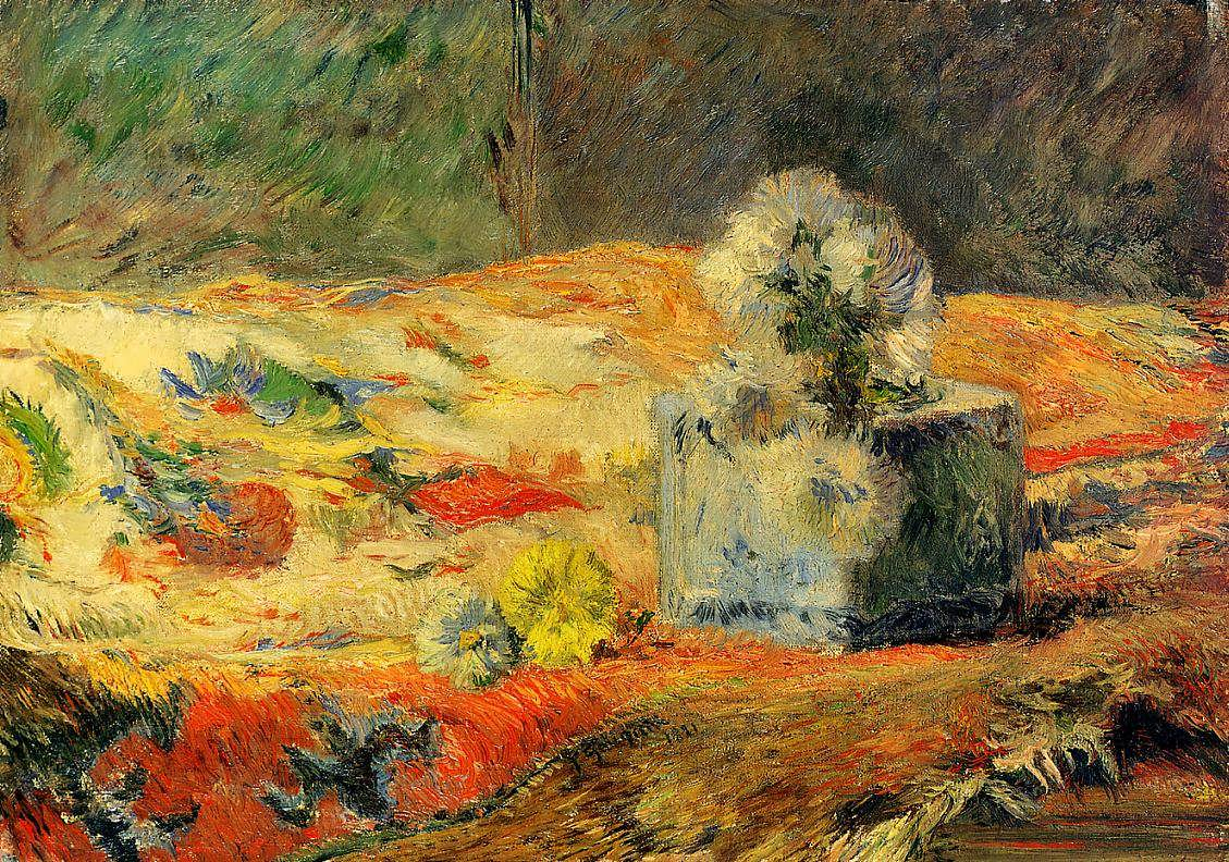 PaulGauguin-FlowersandCarpet