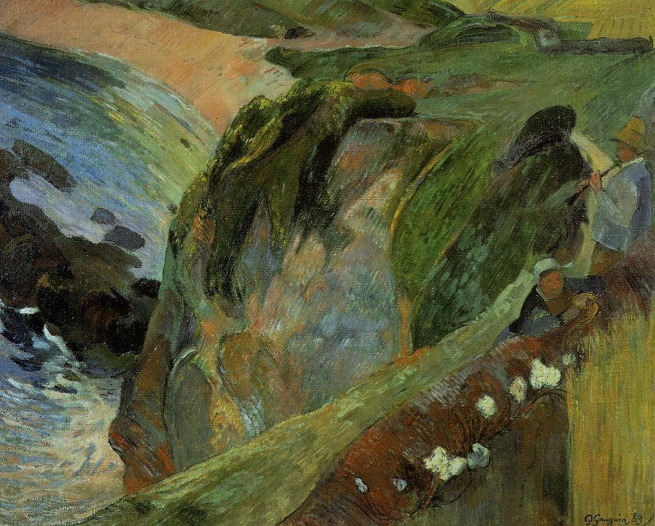 PaulGauguin-FlutistontheCliffs