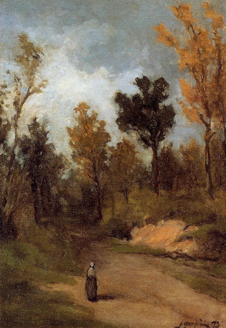 PaulGauguin-ForestPath