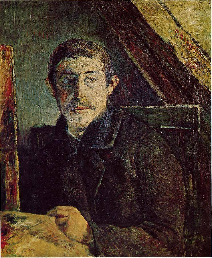 PaulGauguin-GauguinatHisEasel