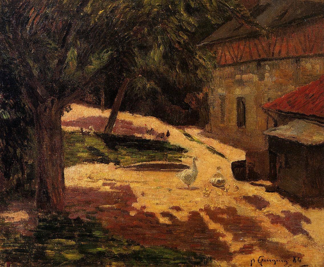 PaulGauguin-Henhouse