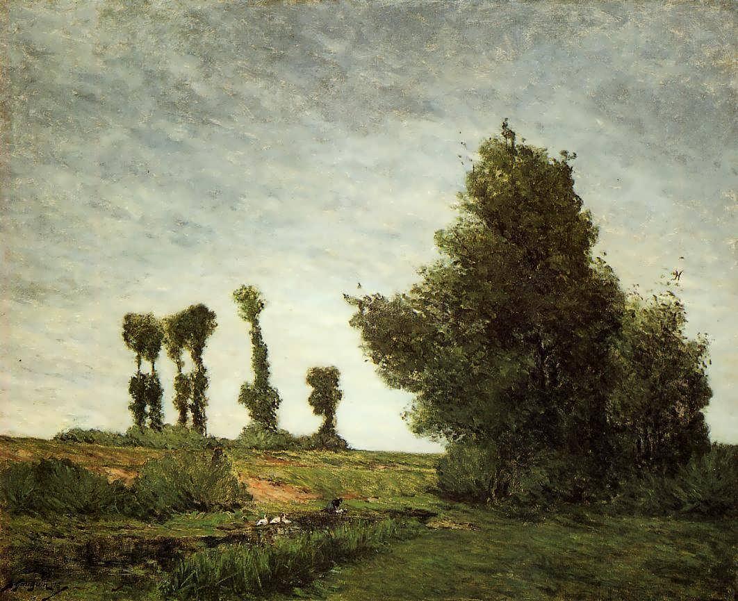 PaulGauguin-LandscapewithPoplars