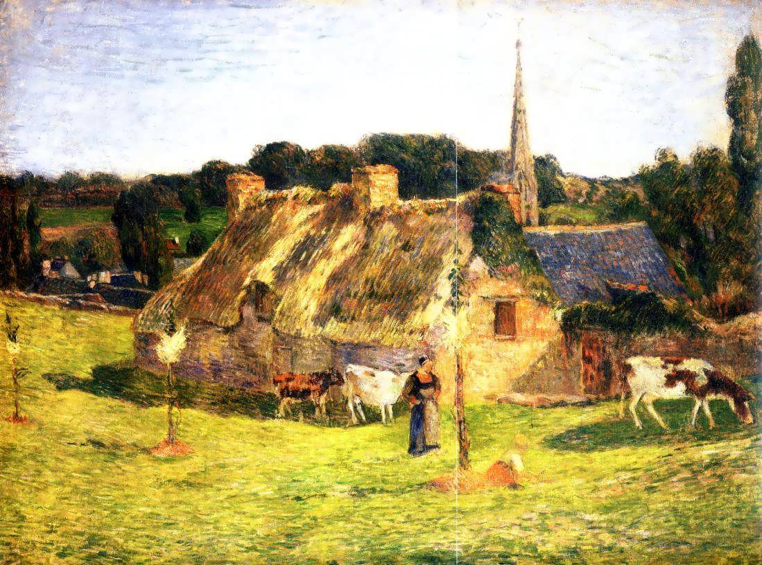 PaulGauguin-LollichonFieldandPont-AvenChurch