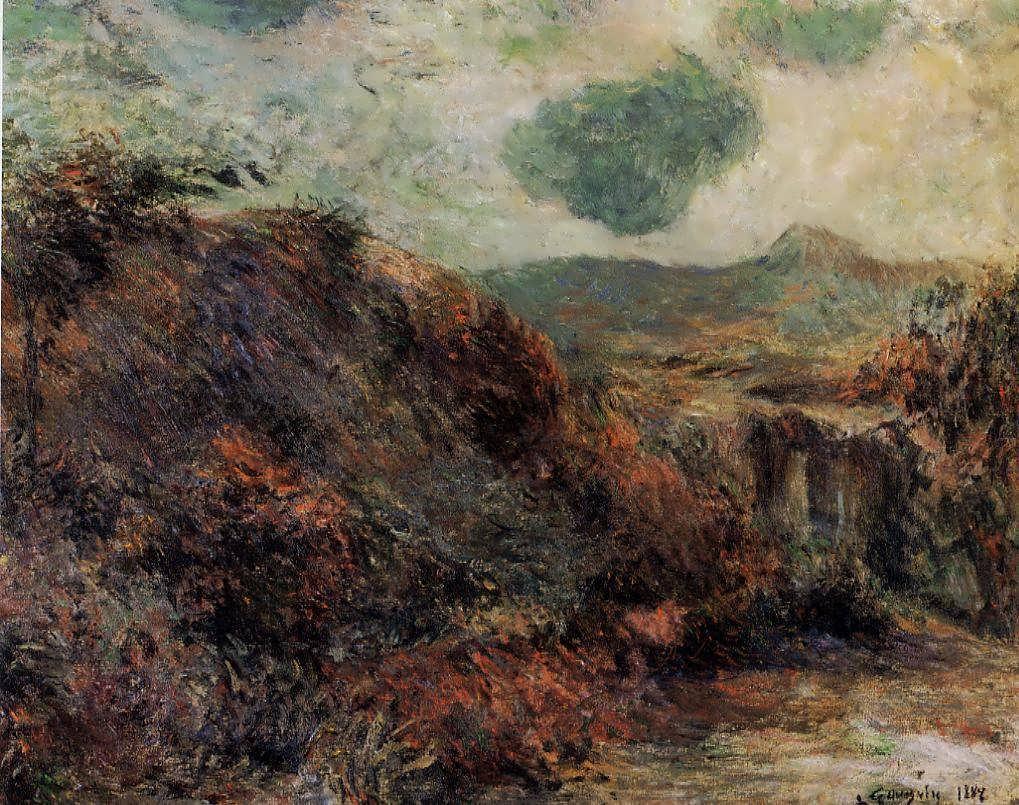 PaulGauguin-MountainLandscape