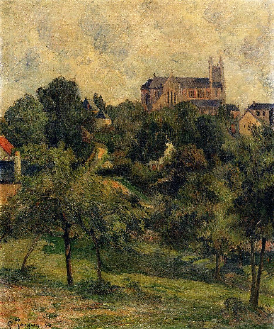 PaulGauguin-Notre-Dame-des-AgnesRouen