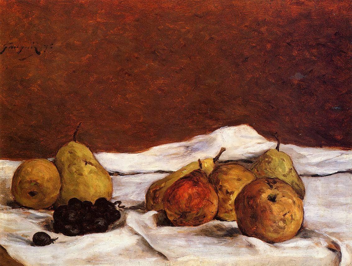 PaulGauguin-PearsandGrapes