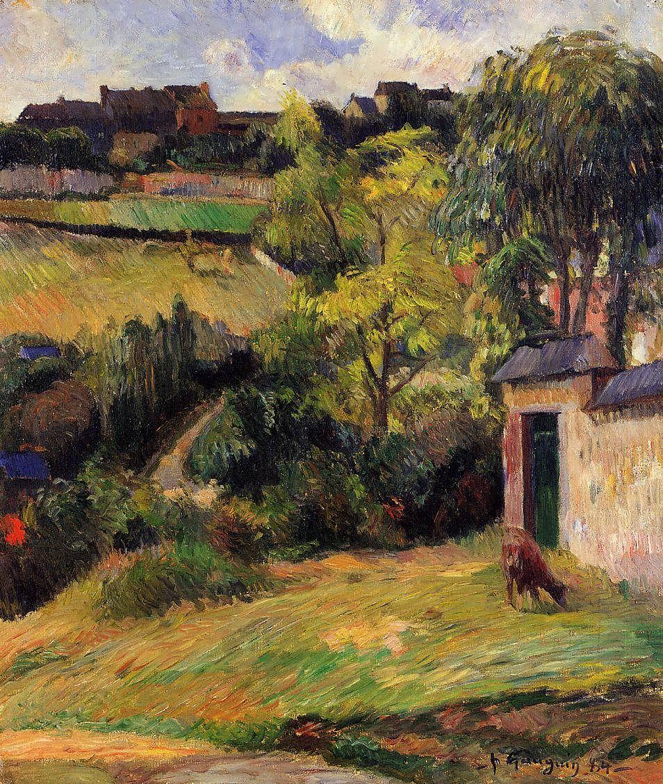 PaulGauguin-RouenSuburb