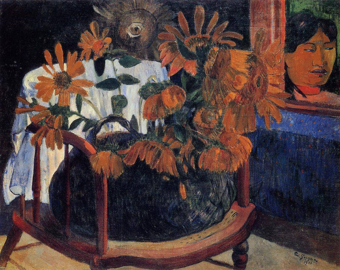 PaulGauguin-Sunflowers