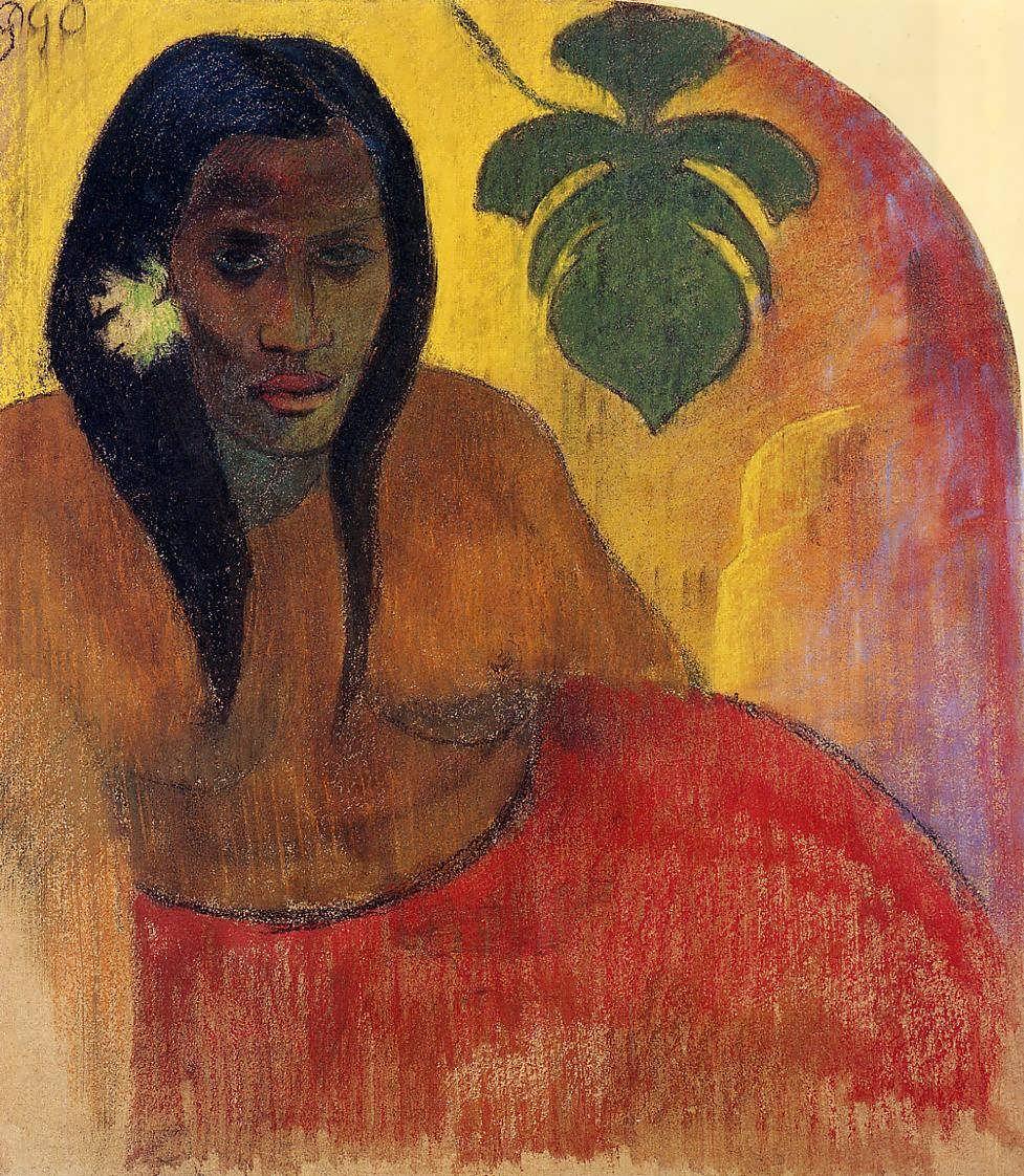 PaulGauguin-TahitianWoman1