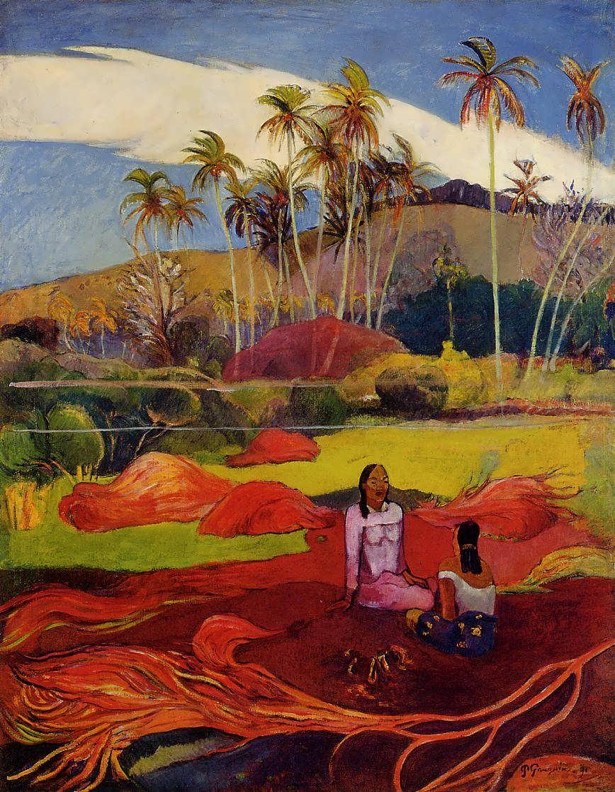 PaulGauguin-TahitianWomenunderthePalms