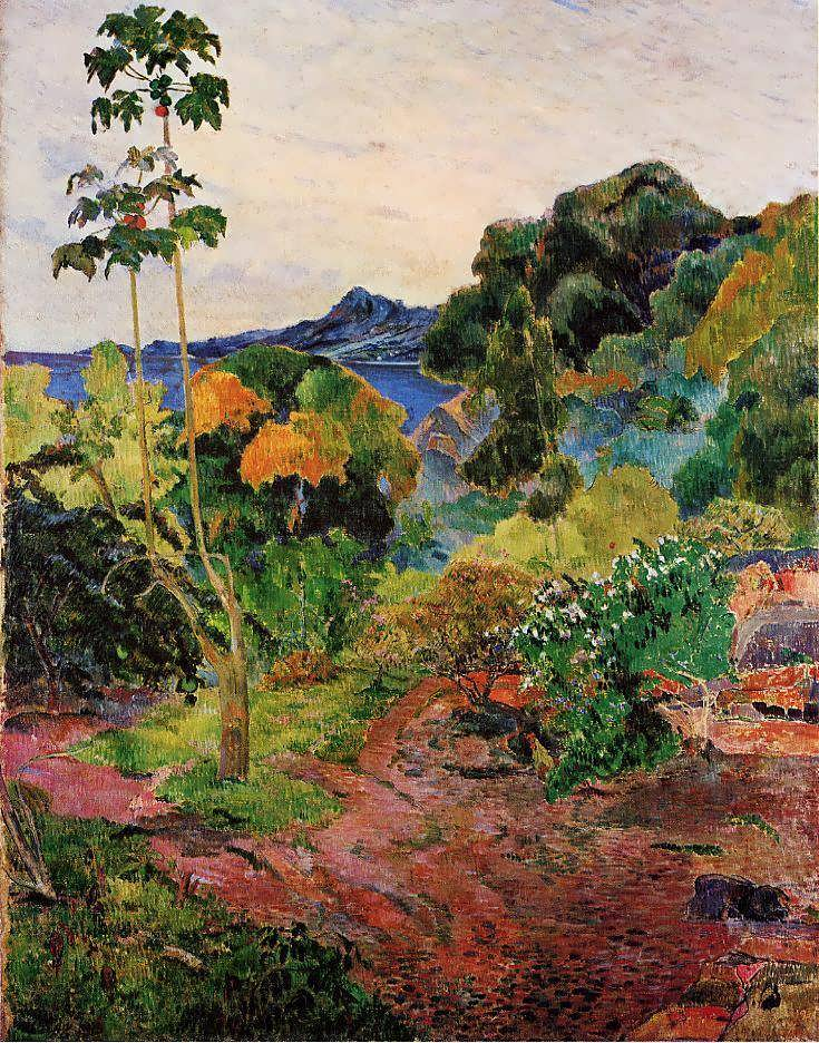 PaulGauguin-TropicalVegetation