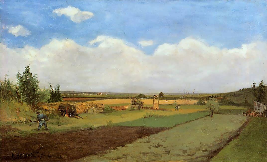 PaulGauguin-Workingtheland