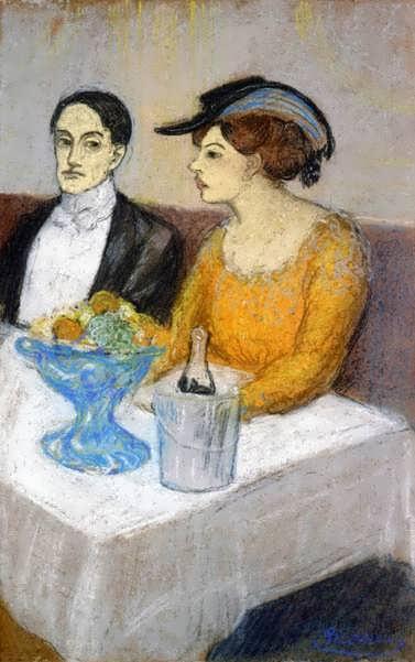 Picasso-AngelFernandezdeSotoandhisFriend