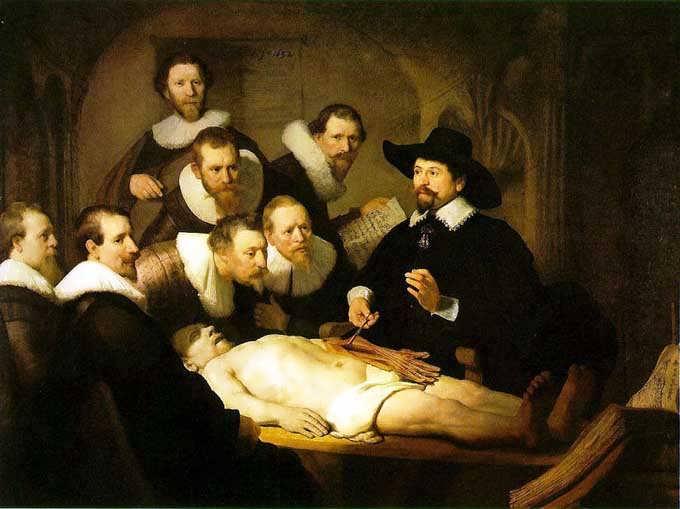 Rembrandt-AnatomyLessonofDrTulip