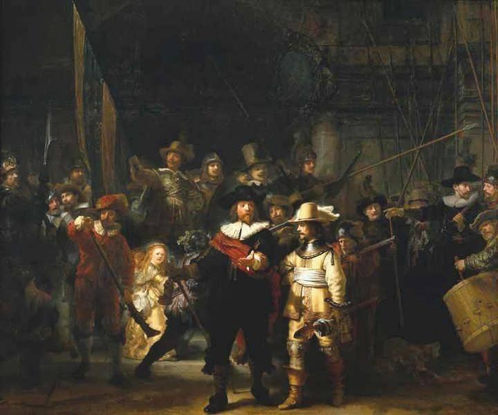 Rembrandt-TheNightwatch1