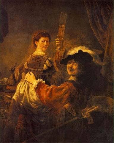 RembrandtandSaskiaintheSceneoftheProdigalSonintheTavern