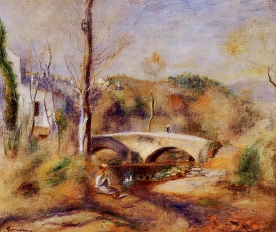 Renior-LandscapewithBridge