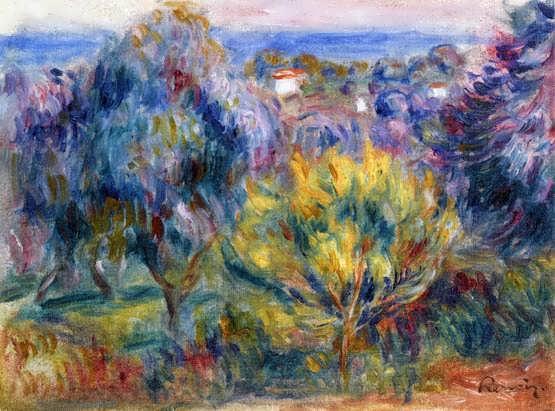 Renior-LandscapewithaViewoftheSea