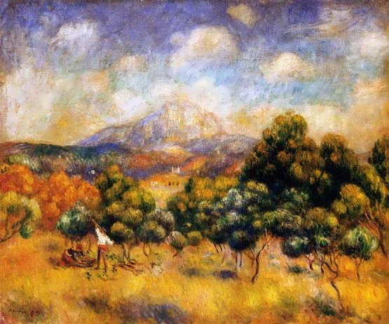 Renior-MountSainte-Victoire