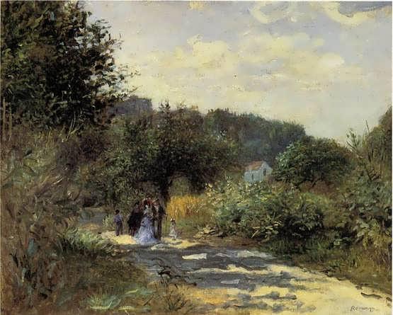 Renoir-ARoadinLouveciennes