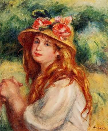 Renoir-BlondinaStrawHat