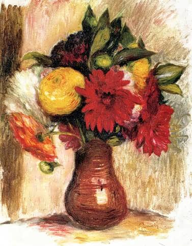 Renoir-BouquetofFlowersinanEarthenwarePitcher