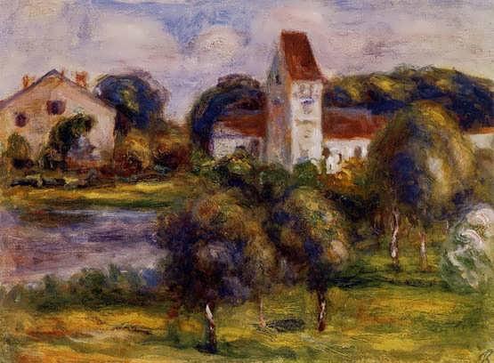 Renoir-BretonLandscape-ChurchandOrchard