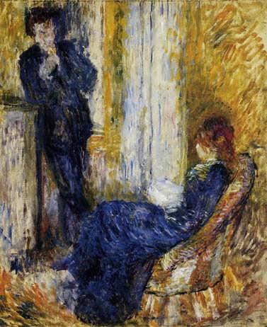 Renoir-BytheFireside