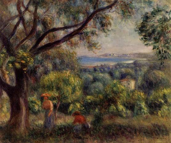 Renoir-CagnesLandscape