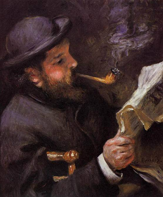 Renoir-ClaudeMonetReading