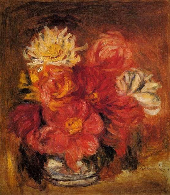 Renoir-Dahlias