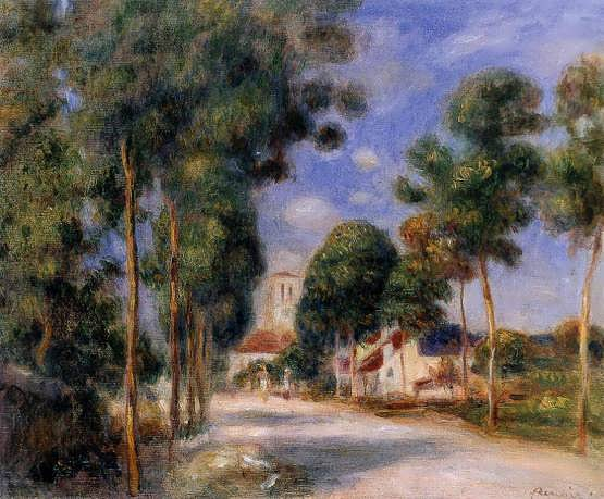Renoir-EnteringtheVillageofEssoyes