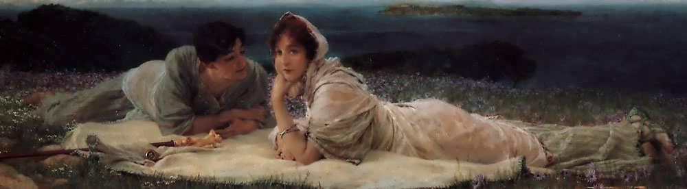 SirLawrenceAlma-Tadema-AWorldofTheirOwn1