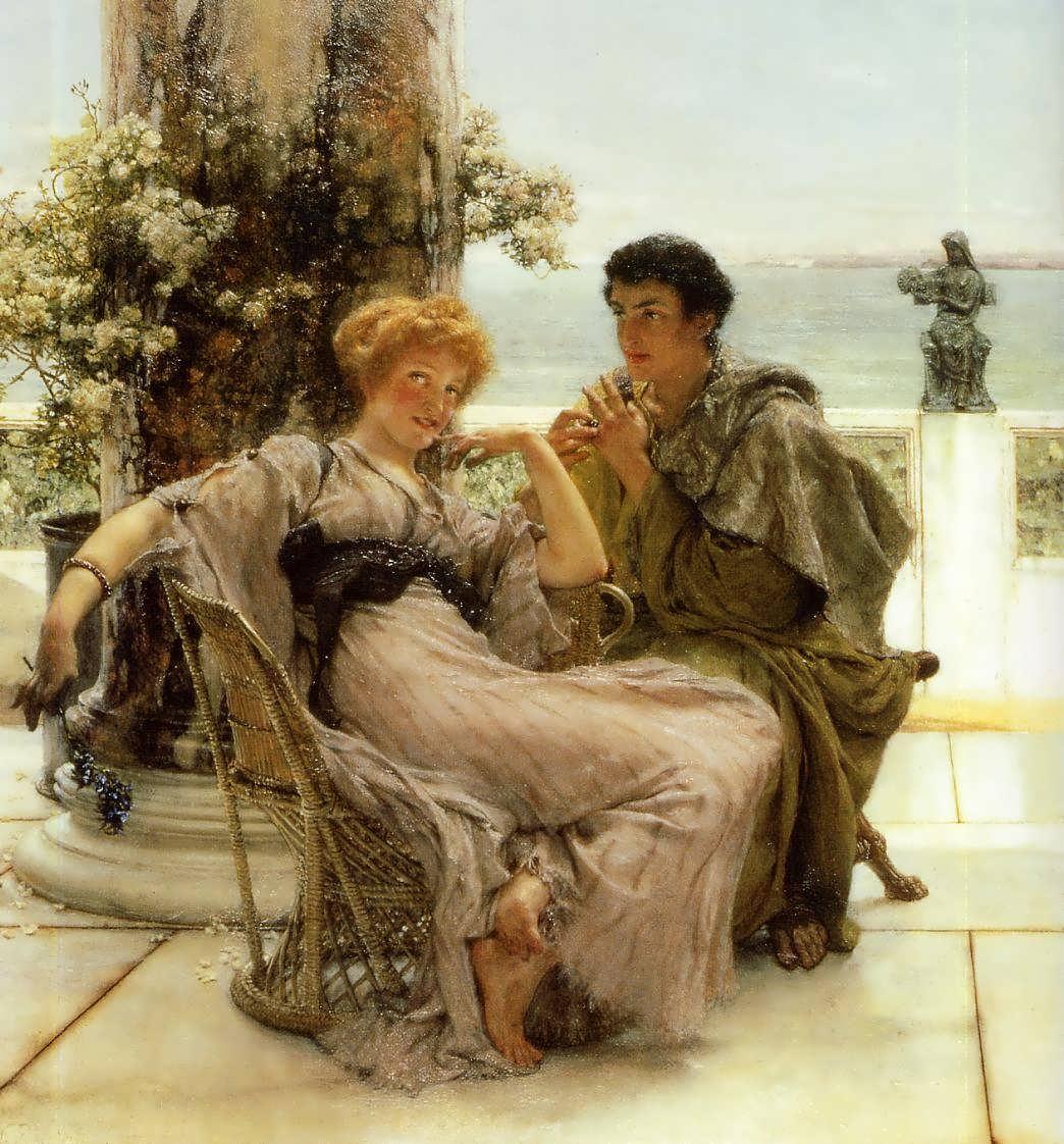 SirLawrenceAlma-Tadema-Courtship-TheProposal1