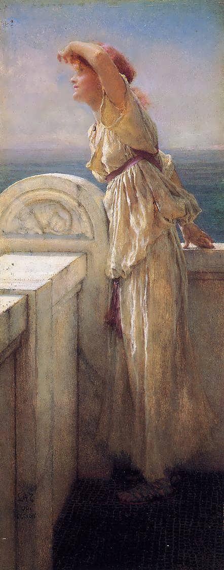 SirLawrenceAlma-Tadema-Hopeful1