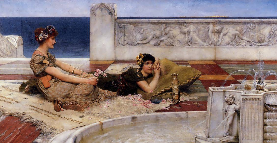 SirLawrenceAlma-Tadema-LovesVotaries