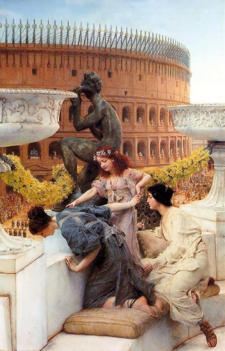 SirLawrenceAlma-Tadema-TheColiseum