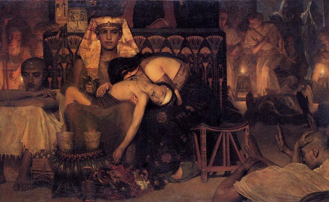 SirLawrenceAlma-Tadema-TheDeathoftheFirstBorn