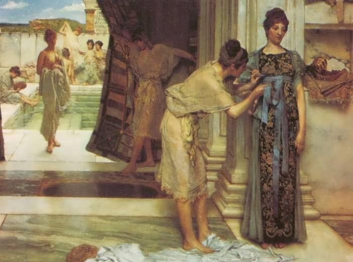SirLawrenceAlma-Tadema-TheFrigidarium