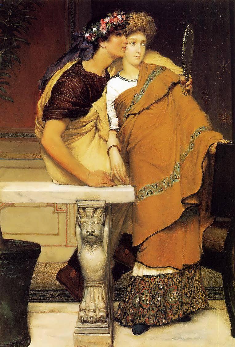 SirLawrenceAlma-Tadema-TheHoneymoon1