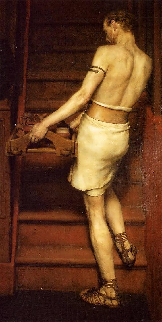 SirLawrenceAlma-Tadema-TheRomanPotter1
